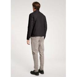Blusa casacca in cotone con inserti in pizzo Gaudì
