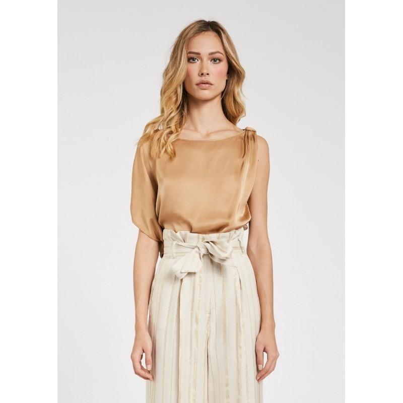 Blusa da Donna asimmetrica in viscosa Gaudì Primavera Estate 2020