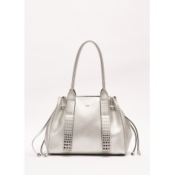 SILVER | Women's Shopping bag with drawstring Gaudì Spring Summer 2020