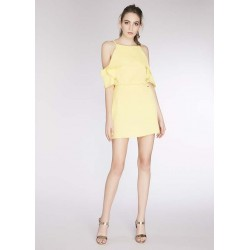 Women's Yellow mini dress Gaudì | Spring Summer Sale