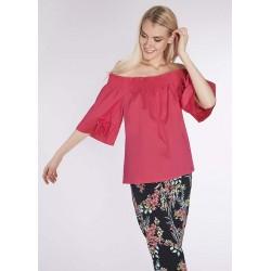 Women's fuchsia Cotton blouse Gaudì | Spring Summer Sale