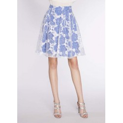Women's White and blue floral skirt Gaudì | Spring Summer Sale