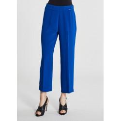 Pantalone lungo Gaudì blu elettrico da donna Gaudì IN SALDO | Saldi Estivi