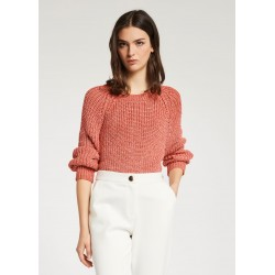 Maglia rossa con maniche raglan Gaudì Jeans