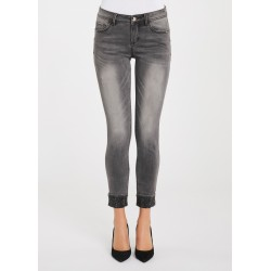 WINTER SALES | Woman - Grey denim jeans Gaudì Jeans
