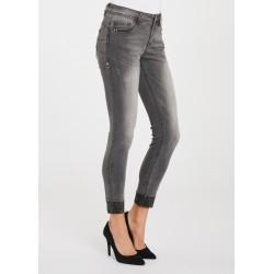 WINTER SALES   Woman - Grey denim jeans Gaudì Jeans