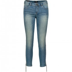 Jeans con dettaglio in passamaneria Gaudì