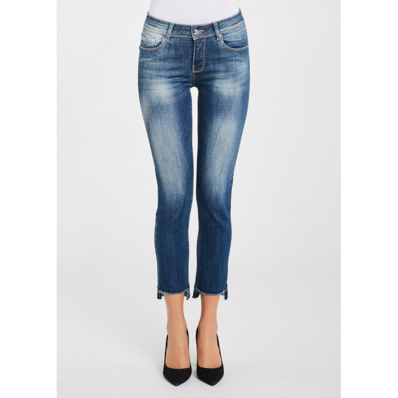 WINTER SALES | Woman -  Jeans with a live cut bottom Gaudì Jeans