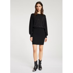 WINTER SALES | Woman - Knitted dress with rhinestones Gaudì Jeans