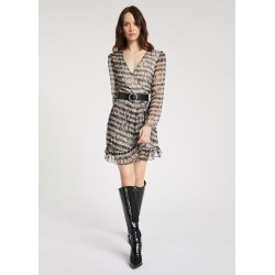 WINTER SALES | Woman - Short dress with ruches Gaudì