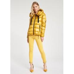DONNA | Autunno Inverno - Piumino giallo con coulisse Gaudì Jeans
