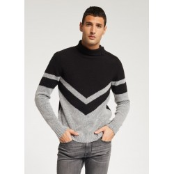 WINTER SALES | Man - Sweater in mixed wool and camel Gaudì