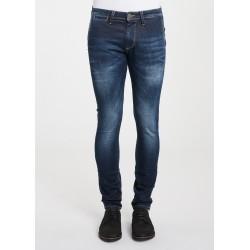 SALDI INVERNALI | Uomo - Jeans chino scuri tasche alla francese Gaudì Jeans