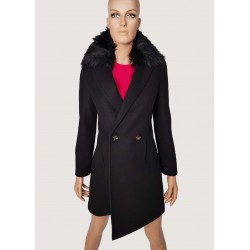 WINTER SALES | Woman - Coat with faux leather Gaudì