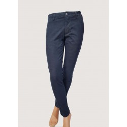 SALDI INVERNALI| Uomo - Pantaloni blu tasche alla francese Gaudì