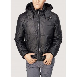 Eco down jacket with hood...