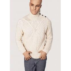 WINTER SALES | Men ' s - Beige high neck sweater Gaudì