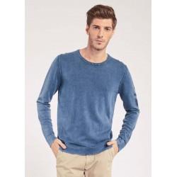 Cotton crewneck sweater...