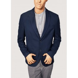 SALDI INVERNALI | Uomo - Giacca invernale blu Trussardi Jeans