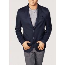 Striped blue summer jacket...