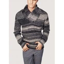 Grey sweater neck high Gaudì