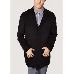 Black winter long coat Gaudì