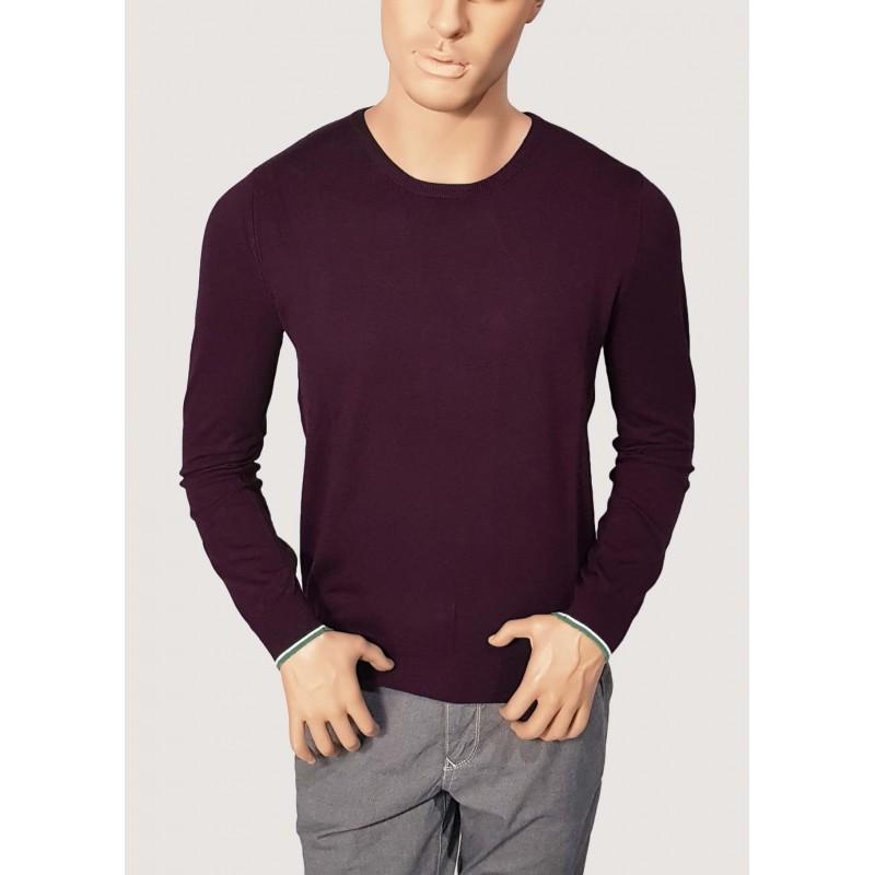 WINTER SALES | Fall Winter - Bordeaux crewneck sweater Gaudì
