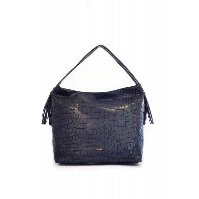 "Top handle bag ""ALICIA"" Gaudì blue"
