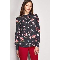 Floral print long sleeve...