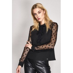 Long sleeve plumetil blouse Gaudì