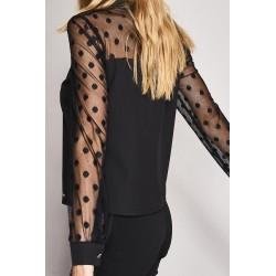 Long sleeve plumetil blouse Gaudì