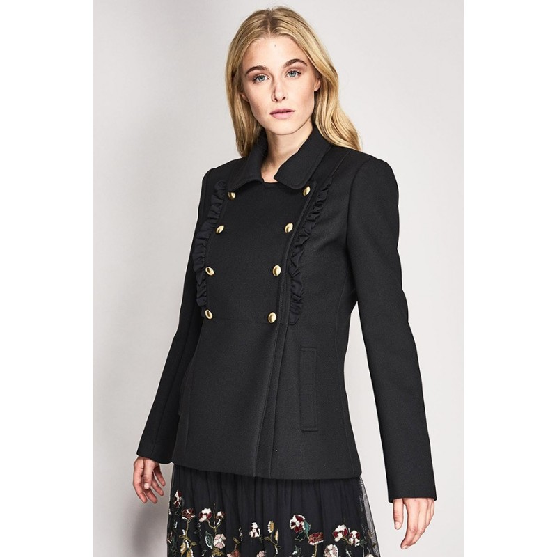 Short double breasted coat Gaudì