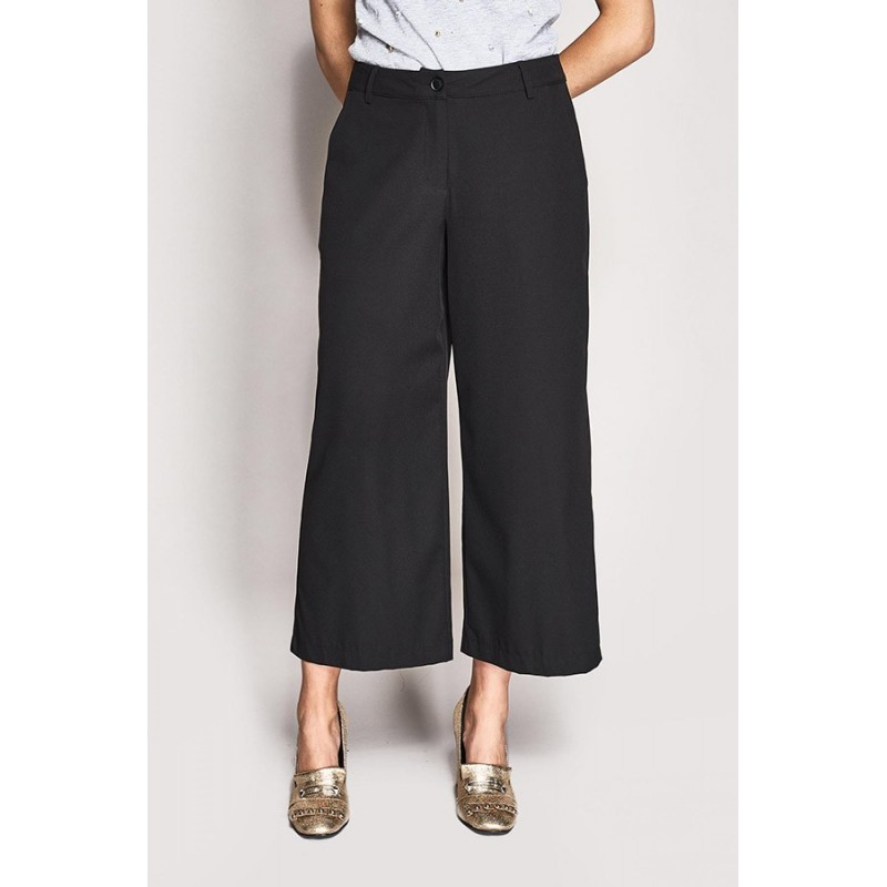 Black wide leg trousers Gaudì