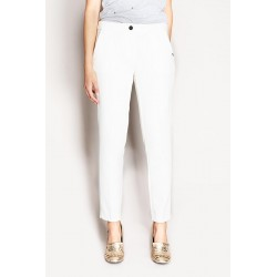 White cigarette trousers Gaudì