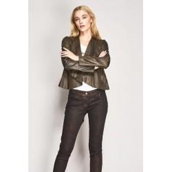 Aged suede jacket Gaudì