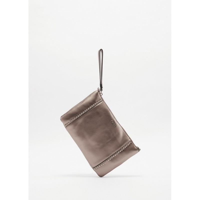 Pochette con decorazione di borchie Gaudì