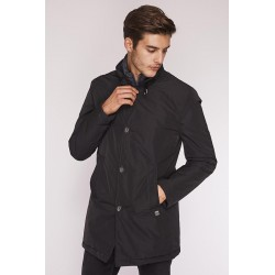 Black raincoat Gaudì