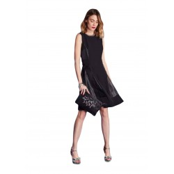 Black sleeveless dress Gaudì
