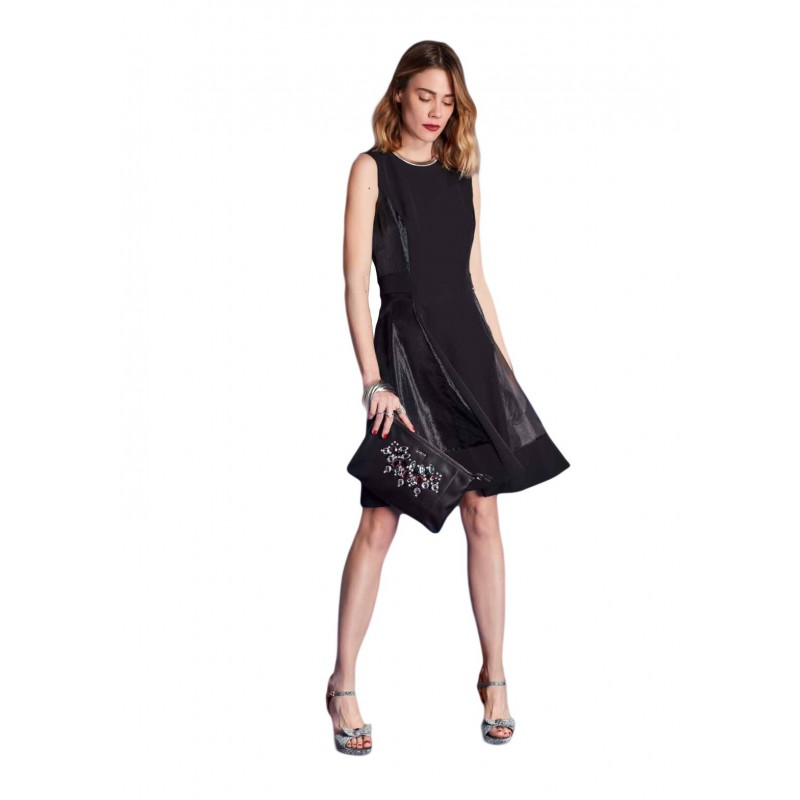 Black sleeveless dress Gaudì