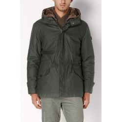 Military green parka Gaudì