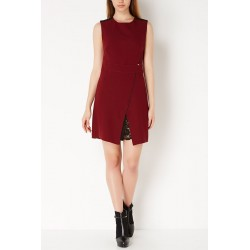 Burgundy sleeveless Gaudì
