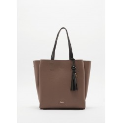 Bag with contrasting handles Gaudì