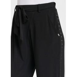 Pantaloni neri in jersey Gaudì