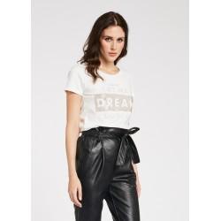 T-shirt bianca da Donna con maniche corte Gaudì Primavera Estate 2020