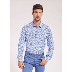 Camicia in popeline Gaudì