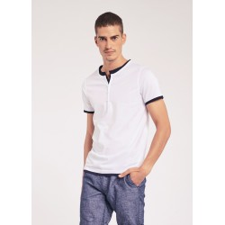 T-shirt with buttons Gaudì