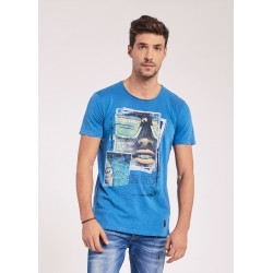 Men's T-shirt with short sleeves Gaudì Jeans Spring Summer 2020