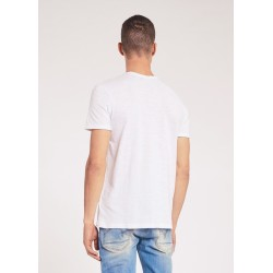 Men's White T-shirt with short sleeves Gaudì Jeans Spring Summer 2020