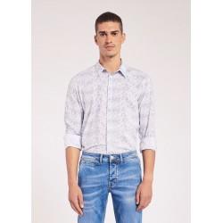 Men's Floral-print shirt Gaudì Jeans Spring Summer 2020