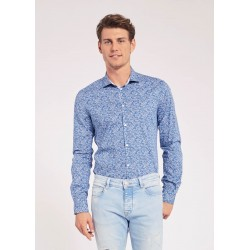 Men's Floral cotton shirt Gaudì Jeans Spring Summer 2020
